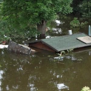 Hochwasser an der Prißnitz