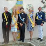 Großherzog von Flandrensis, Königin und Prinzessin von Ladonien, Kaiser von Angyalistan und Prinz Jean-Pierre IV von Aigues-Mortes (Foto: Jule Hanka)